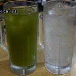 もつ焼き酒場 豚坊 - 緑茶ハイとレモンサワー