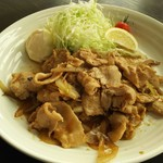 70761713 - 豚の生姜炒め