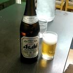 ラーメン翔 - 瓶ビール