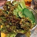 韓国創作焼肉 雪姫亭 - 巻き野菜