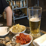韓国創作焼肉 雪姫亭 - キムチとナムル