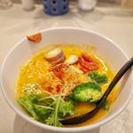 ソラノイロ ナゴヤ - 玄米麺ベジソバベジ増し…1050円