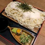 こまどりうどん - 料理写真:「山かけざるうどん」(660円)。 またもトロロ・・・。(笑)