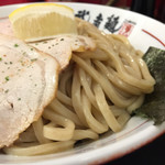 武者麺 SEA - 濃厚魚介つけ麺 大盛り