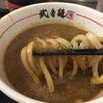 武者麺 SEA - 濃厚魚介つけ麺  粘度があります
