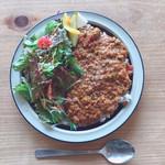 MOKU cafe - 野菜いっぱいキーマカレー