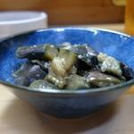 家庭料理 小川 - なすの煮浸し