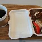 カフェ モーツァルト メトロ - 牛タンと牛スジのビーフシチュー&コーヒー