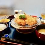 あけぼの食堂 - 料理写真:[2017/07]アジフライ定食(800円)