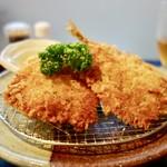 あけぼの食堂 - [2017/07]アジフライ定食(800円)