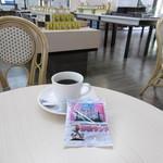 カフェ ハニー ハニー - ドリンク写真:珈琲と影絵サンド