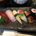 寿し善 - ランチのお寿司