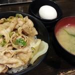 伝説のすた丼屋 - ミニすた丼530円