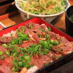 さかえろう - 料理写真:ステーキ丼