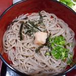 萬寿庵 - 料理写真:冷麺のぶっかけそば 2017.7