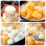 MeetFresh 鮮芋仙 - 赤肉メロンミルクかき氷