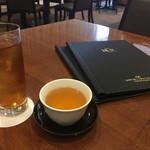 緑花 - 温かいお茶と、冷たいお茶
