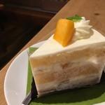 ルスルス - マンゴーのショートケーキ