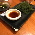 沖縄料理 馳走屋 楽 - 海ぶどう
