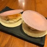 沖縄料理 馳走屋 楽 - ミルクせんべい