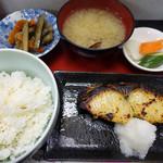 味館食堂 - 焼魚定食(鰆)