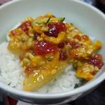 味館食堂 - バクダン海鮮納 on rice