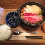 70778509 - すき焼き定食