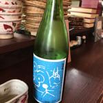 蕎麦見世のあみ - 満点星 そら(生酒)