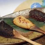穂のか - 焼き味噌3種(青唐辛子、山椒、酒粕)