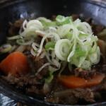 さくら亭 - 馬肉の煮込み