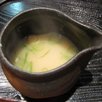 麺屋 かぶき亭 - 割りスープ