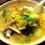 中華樓 - 野菜たっぷりタン麺 700円