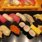 築地寿司岩 - にぎりの上1,800円也