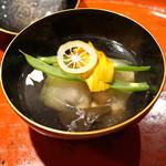 草喰 なかひがし - 岩魚の煮物椀