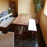 ドゥルセアルテ - 大きいテーブル席