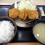 松乃家 - ヒレカツ定食