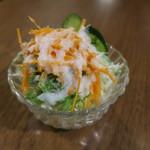 Putali Cafe - ミニサラダ