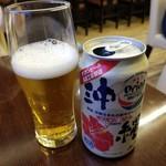 芭蕉庵 - オリオンビール 350円
