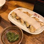 チャオチャオ餃子 - 山芋わさび餃子!
