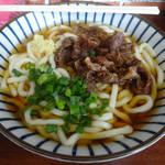 せんしゅう - 料理写真:「肉うどん(大)」600円