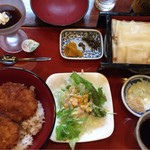 藤屋本店 - ミニソースカツ丼セット