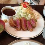 洋食SAEKI - ヘレビーフカツ