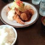 洋食SAEKI - ミックスフライランチ