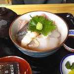 天麩羅割烹 天畔 - 海鮮丼