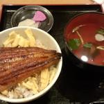 うなぎ御食事処煙 - うな丼(500円)(税抜)