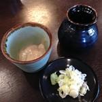 信州蕎麦の草笛 - くるみダレ