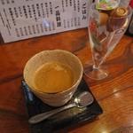 高野家 - ランチサービスのコーヒー
