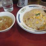 70792135 - チャーハン スープ付き