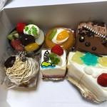ラ・プラージュ・マイアミ - ケーキ8種