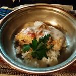 ぐらばあ亭 - 若鶏のクリーム煮バターライス添え 1,620円